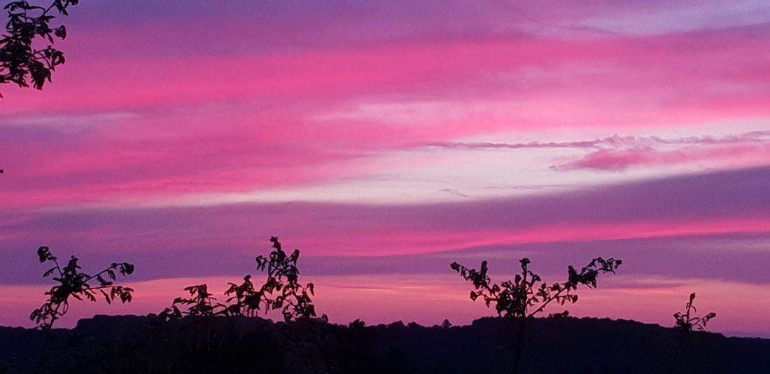 Loubejac sunset