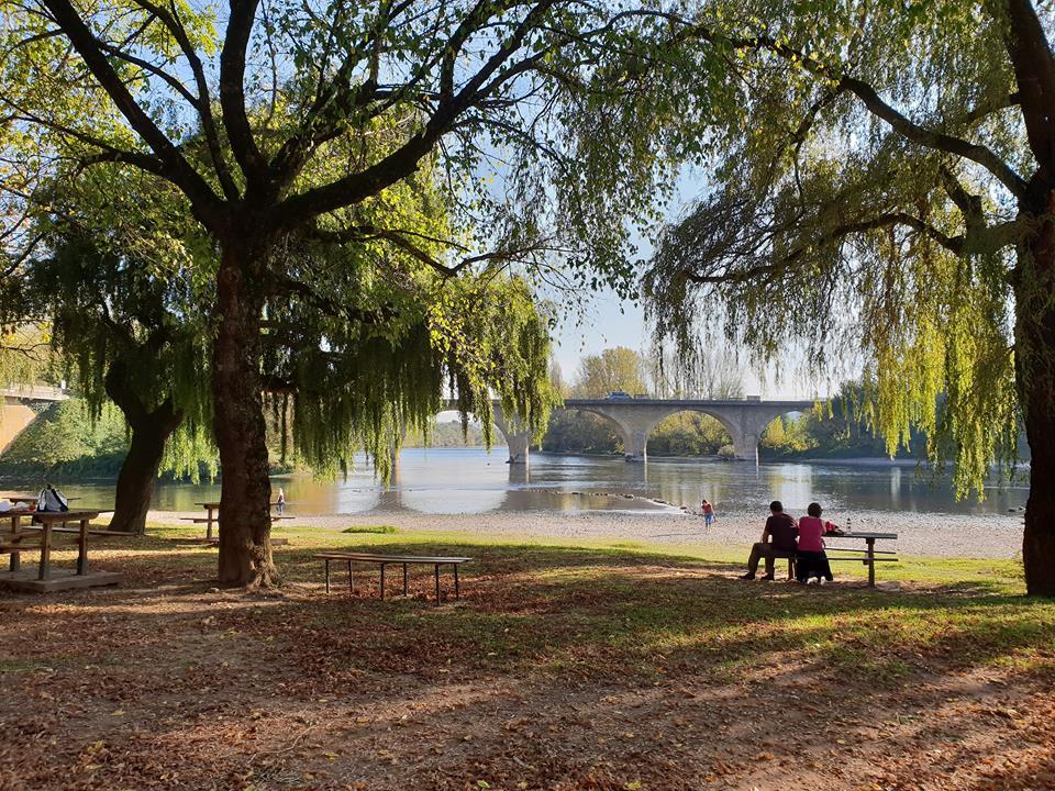 Where the Dordogne meets the Vezere