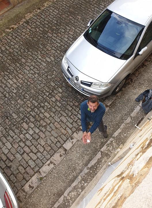 Martin catching keys