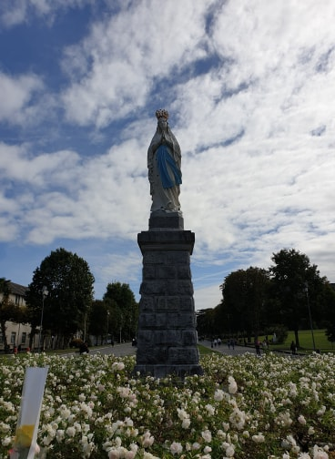 Huge Lady of Lourdes