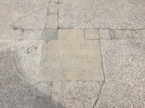 Marciac music paving slabs.jpg