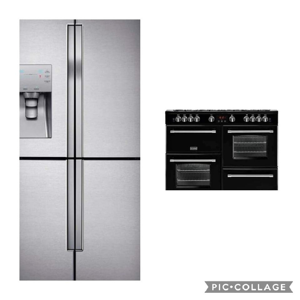 Range and Fridge