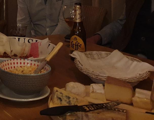 Delicieux plateau de fromage