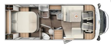 Floor Plan of motorhome