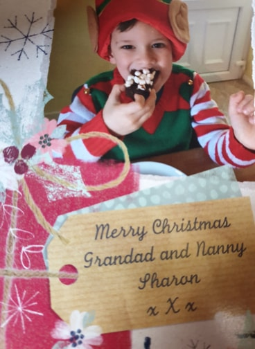 Max christmas card