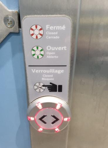 Toilet Operational Panel